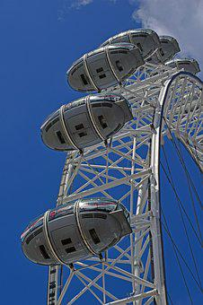 London Eye, London Eye Capsules, London, Attraction