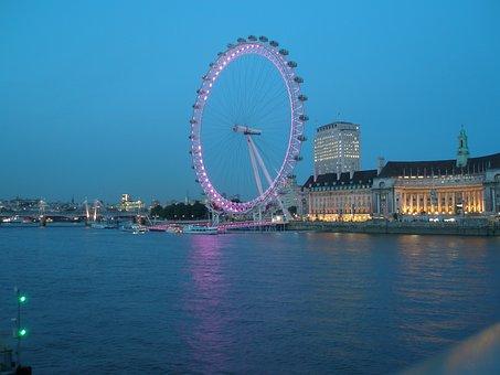 Landscape, London, Memories, London Eye, Wheel
