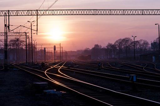 Rails, Tracks, Railroad, Railway, Transportation, Metal