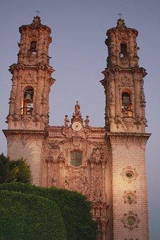 Taxco, Guerrero, Mexico, Cathedral, Santa Prisca
