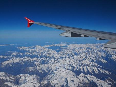 Aerial View, Luftbildaufnahme, Alpine, Mountains