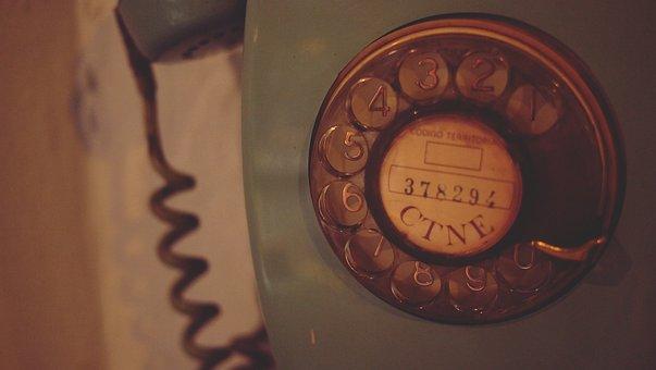 Rotary Telephone, Vintage, Antique, Oldschool