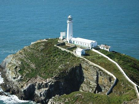 Lighthouse, North Wales, Southstack, Anglesey, Coastal