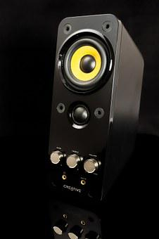 Multimedia, Speakers, Pc Speakers, Volume, Bass