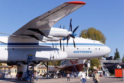 Propeller Plane, Antonov, Technology, Museum, Speyer
