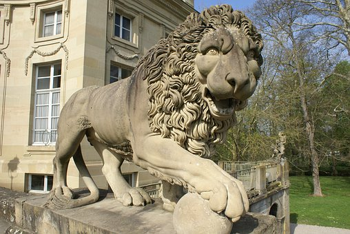 Lion, Stature, Statue, Ludwigsburg Germany