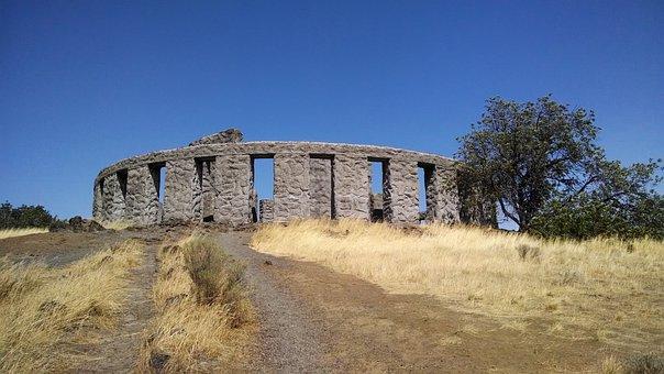 Stonehenge, Maryhill, Washington, Memorial, Columbia