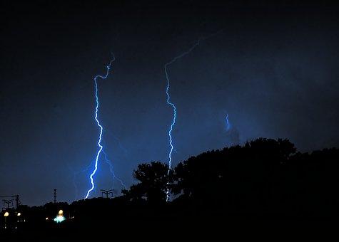 Lightning, Storm, Stormy, Thunder, Nature, Weather