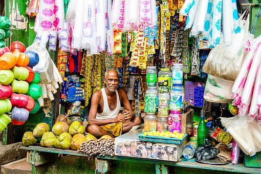 Hawker, Street, Color, Sell, Colorful, Culture, Food