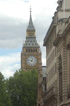 London, England, The London Eye, Street, View