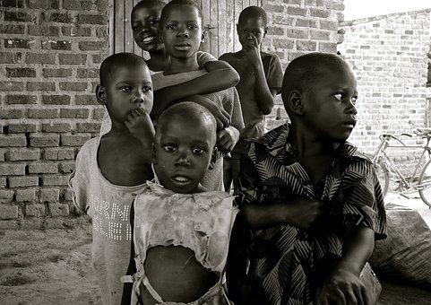 Children, Uganda, Africa, Poverty, Developing Country
