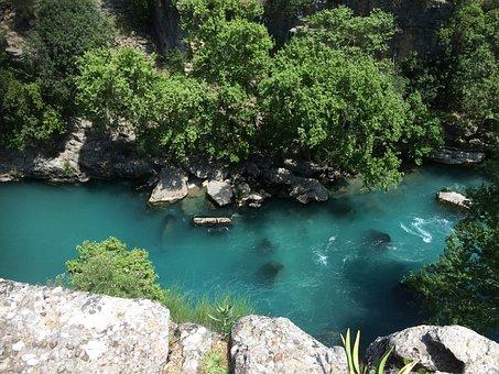 Gorge, Holiday, Adventure, World Heritage, Blue, River
