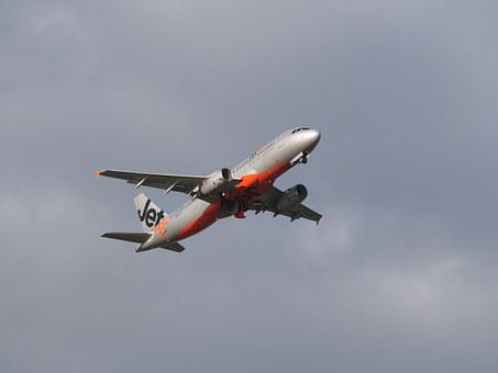 Jetstar, Takeoff, Airplane, Airport, Aviation, Aircraft