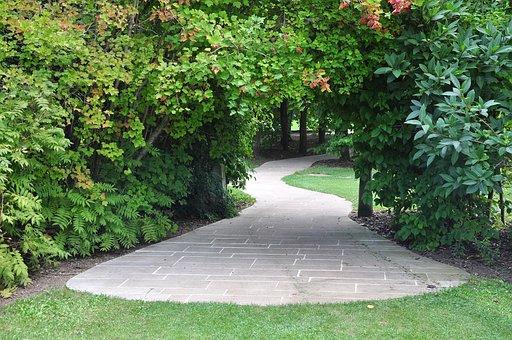 Garden, Tunnel, An Ornamental Garden