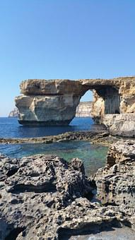 Gozo, Island, Azure, Azure Window