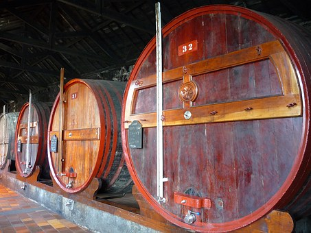 Oak Barrel, Cave, Port, Barrel