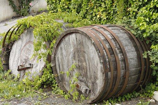 Barrel, Wooden, Storage, Old, Container, Wood, Vintage