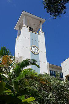 Carillon, Bell Tower, Clock, Tower, Upward, Buildings