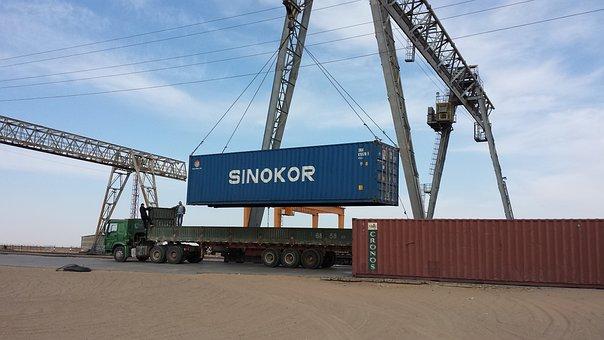 Container, Yard, Zaminuude, Mongolia, 50ton, Capacity