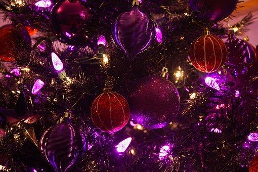 Christmas, Christmas Tree, Tree Skirt, Ornaments