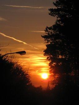 Sunrise, Sky, Clouds, Skies, Morgenstimmung, Morning