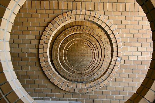 Construction, Barda, Circles, Geometry, Wall, Design
