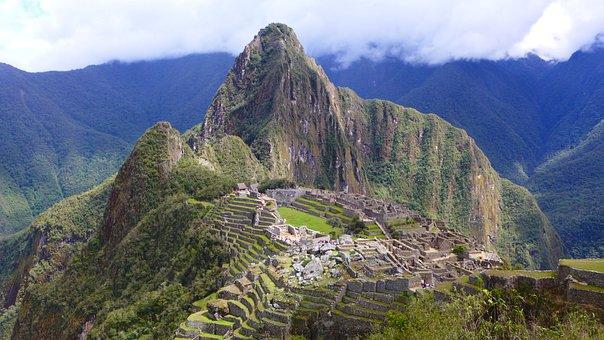 Machu Piccu, Incan, Peru, Mountain, Cusco, Unesco