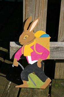 Easter Bunny, Hare, Easter, Figure, Decoration, Deco