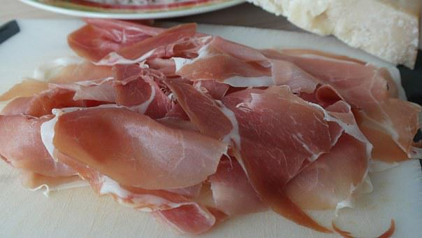Ham, Parma Ham, Raw, Smoked, Eat, Food, Delicious, Meat