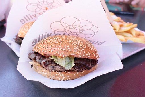 Burger, Fast Food, Delicious, Eat, Junk Food, Snack