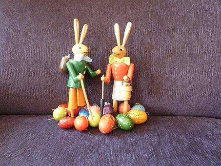 Easter Bunny, Easter, Holiday, Easter Eggs, Rabbit, Egg