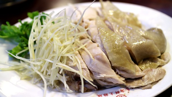 White Zhan A Surname, A Surname Of Meat, Gourmet