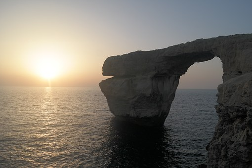Gozo, Azure Window, Sunset