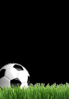 Football, Play, Ball, High, Green, Meadow