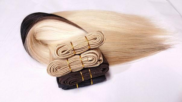 Weft Extension, Hair, Extension