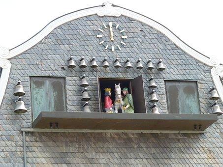 Carillon, Goslar, History, Historic, Germany, Noon