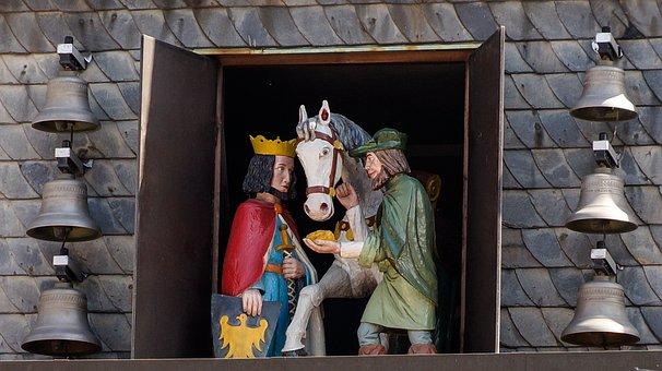 Mining, Carillon, Goslar, History, Historic, Germany