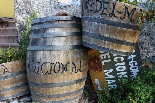Barrels, La Gomera, Canaria Islands