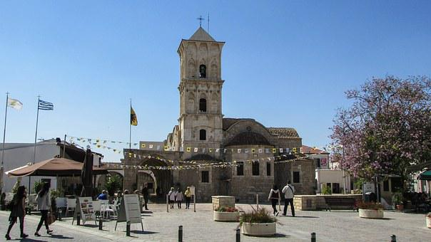 Larnaca, Town, Cathedral, Ayios Lazaros, Square