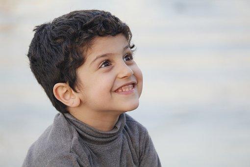 Kid, Laugh, Iraq, Happy, People, Baghdad