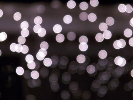 Christmas, Lights, Focus, Xmas, Holiday, Decoration