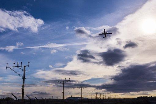 Malaga Airport, Pablo Ruiz Picasso, Dawn, Aircraft