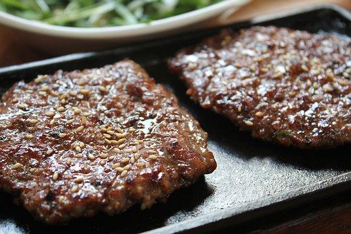 Korean Tteokgalbi, Food, Meat