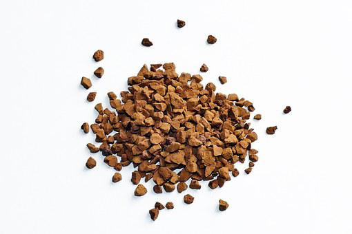 Coffee, Granules, Caffeine, Brown, Drink, Natural