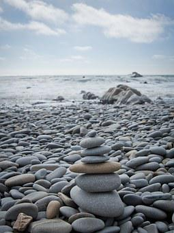 Stones, Beach, Still Life, Sea, Pebble, Water, Coast