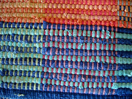 Weaving, Rug, Rag, Warp, Weft, Textiles, Fibers