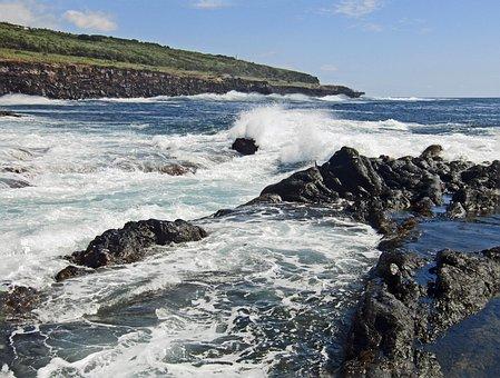 Azores, Faial, Sea, Vacations, Coast