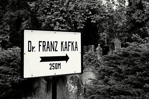 Cemetery, Signs, Direction, Kafka, Writer