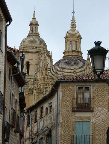 Segovia, Cathedral, Spain, Old Town, Castile