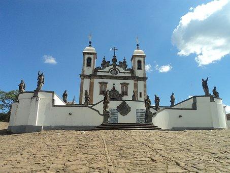 Aleijadinho, Prophets, Statue, Historic City, Church